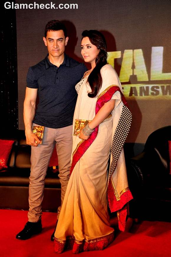 Rani Mukherjee Aamir Khan Launch Music of Talaash