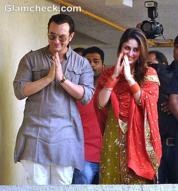 Saif-Kareena Kapoor Wedding pictures Court Marriage