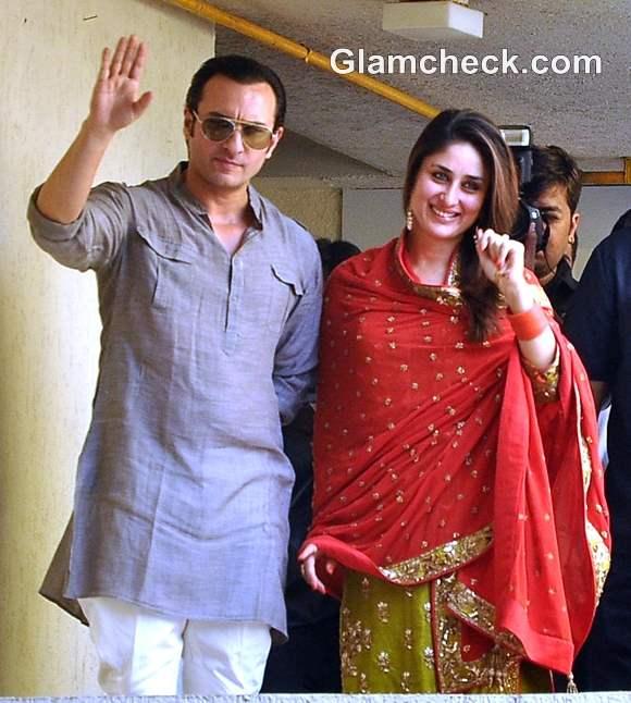 Saif-Kareena Wedding Court Marriage pics