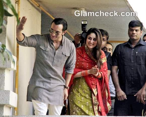 Saif-Kareena Wedding pictures