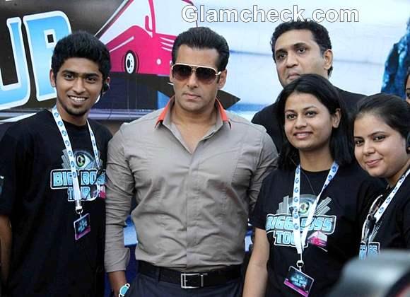 Salman Khan Launch of Big Boss TV Tour