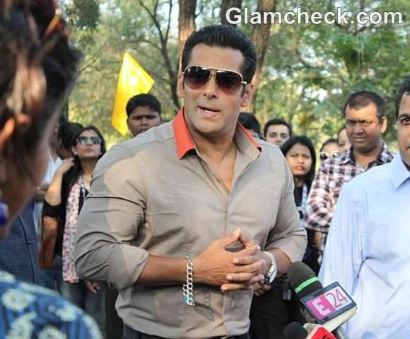Salman Khan at Launch Big Boss TV Tour
