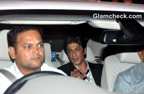Shah Rukh Khan  Saif Kareena Post Wedding Party Taj Mahal Hotel