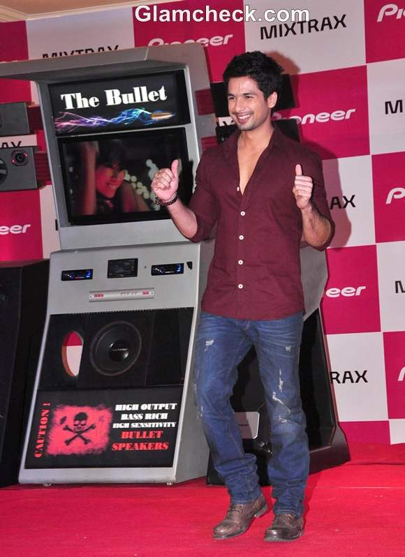 Shahid Kapoor Launches New Car Audio Range by Pioneer