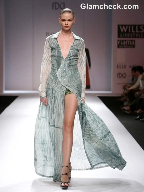 Shibori collection rahul singh wifw s-s 2013