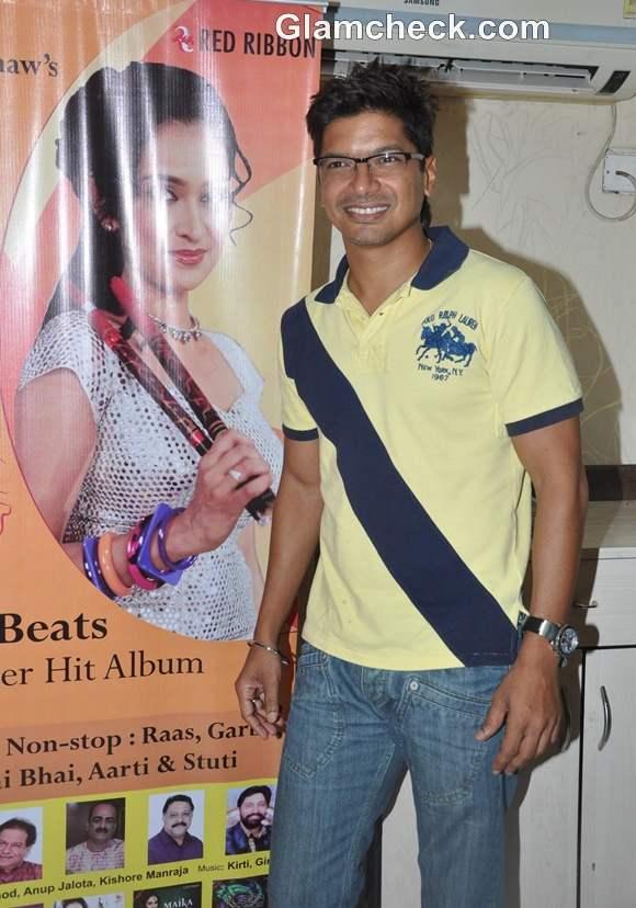 Singer Shaan at the Launch of Garba album Aye Halo