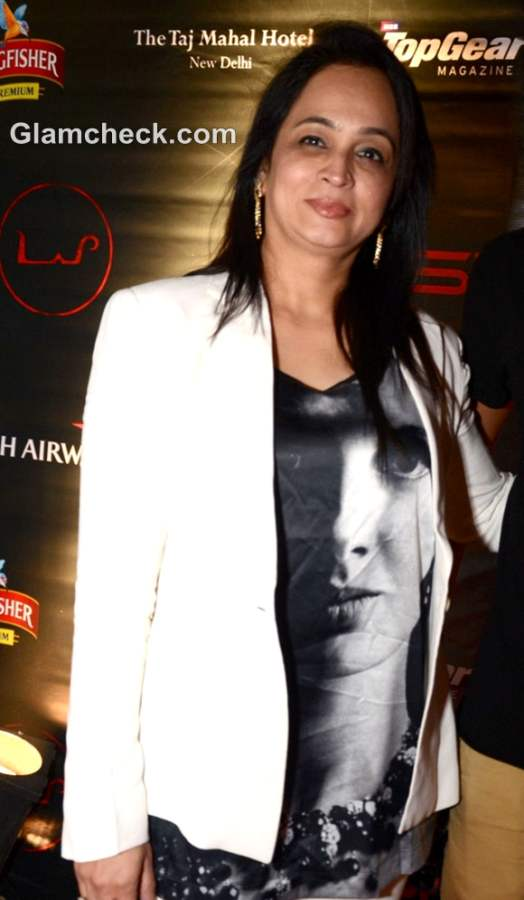 Smita Thackeray F1 2012 official F1 After Party day 3