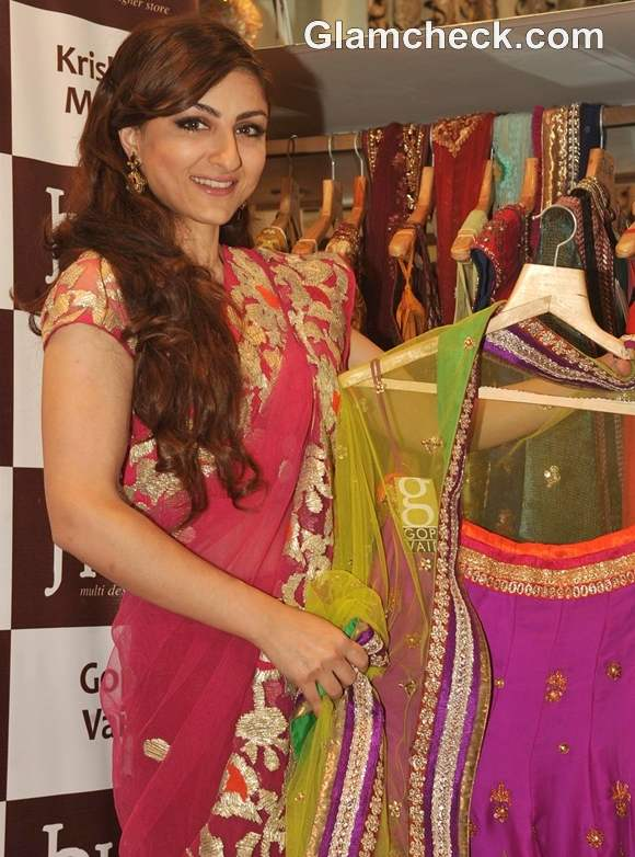 Soha Ali Khan Launches New Collection HUE