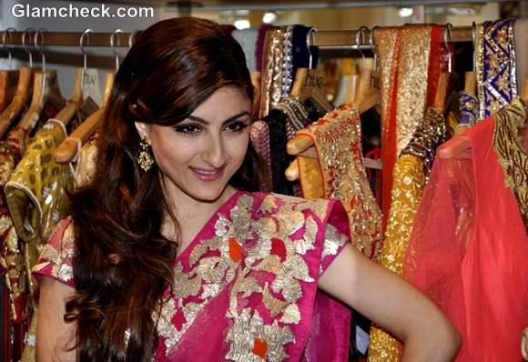 Soha Ali Khan for HUE