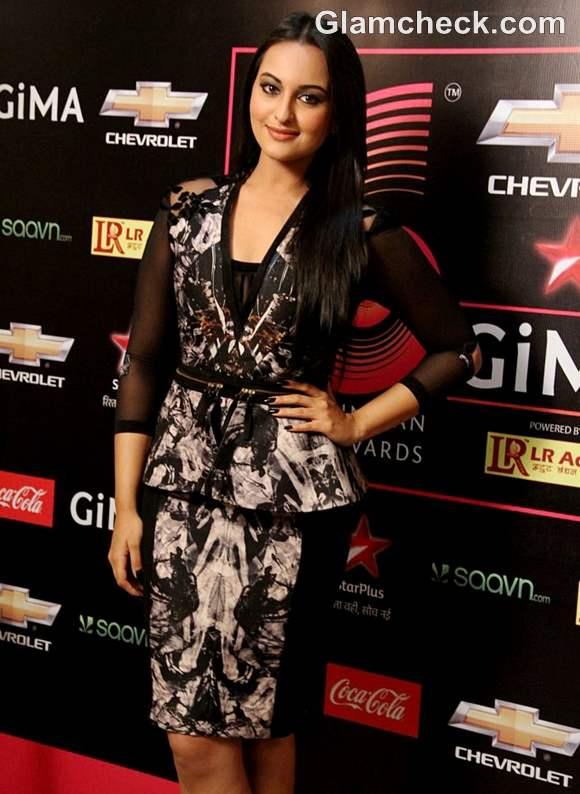 Sonakshi Sinha GIMA 2012