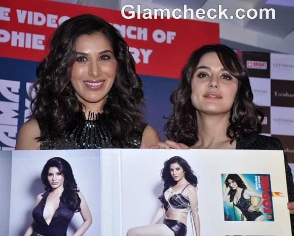Sophie Choudhary launches Music album Hungama Ho Gaya preity zinta