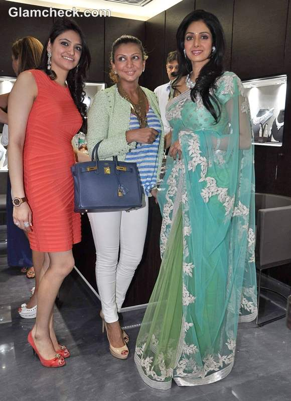 Sridevi Begani Jewels Mumbai launch