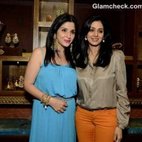Sridevi Launches Sister-in-law Latest Jewellery Range