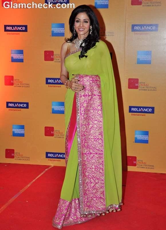Sridevi Mumbai Film Festival Opening 2012