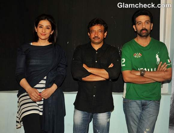 Stars of Bhoot Returns Attend Press Conference