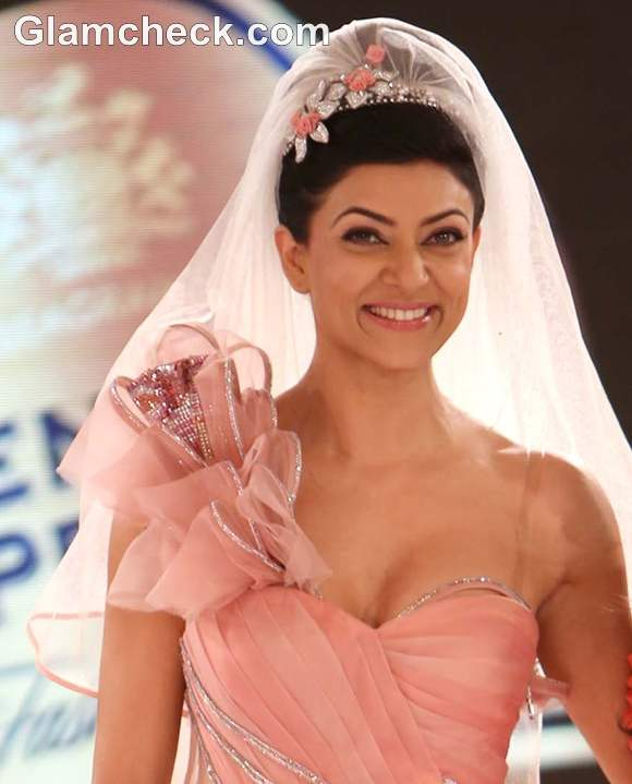 Sushmita Sen Blenders Pride Fashion Tour 2012 Mumbai