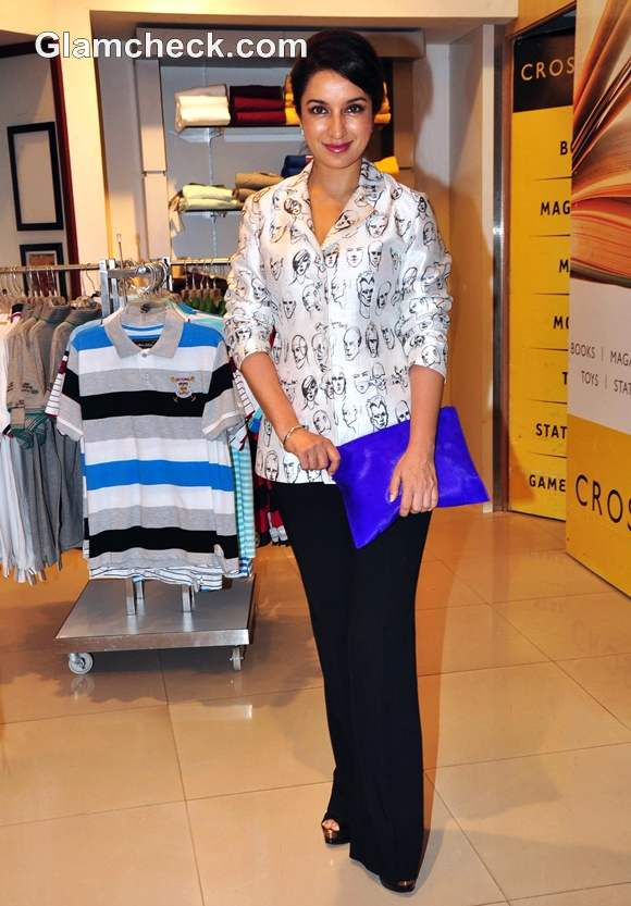 Tisca Chopra at the launch of Operation Lipstick