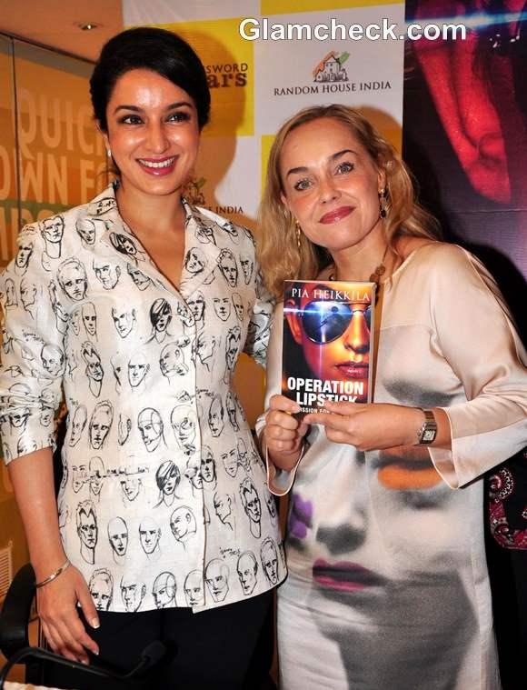 Tisca Chopra launch of Operation Lipstick