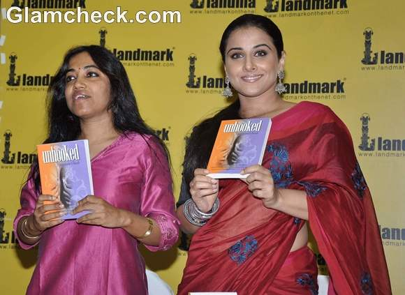 Vidya Balan Endorses Novel Unhooked Landmark Bookstore