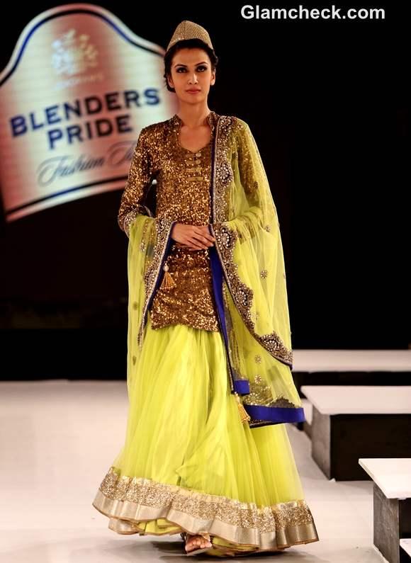 Vikram Phadnis Collection at Blenders Pride fashion Tour 2012 Mumbai