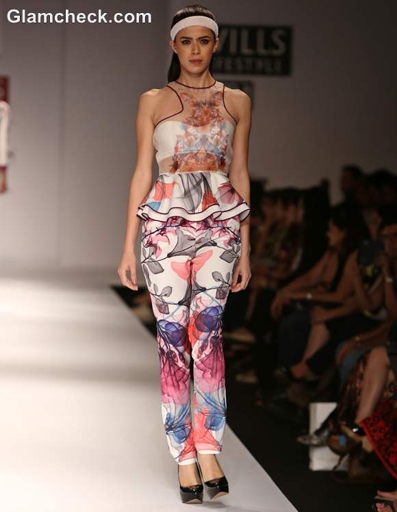 WIFW S-S 2013 Hemant and Nandita Digital Floral