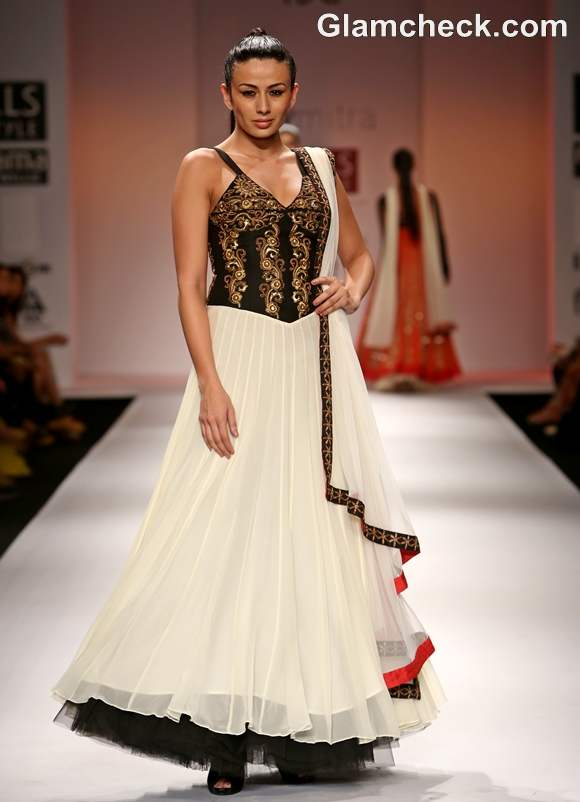 WIFW S-S 2013 Joy Mitra Collection show