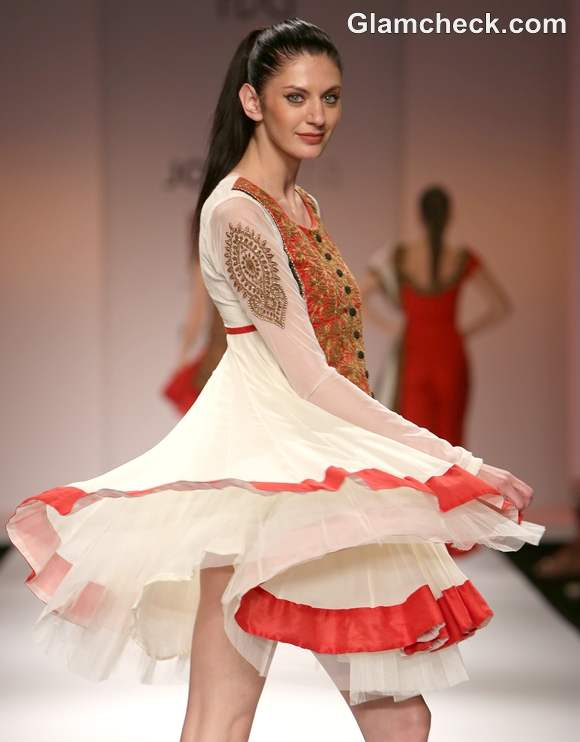 WIFW S-S 2013 Joy Mitra Collection