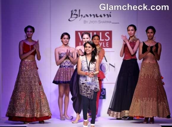WIFW S-S 2013 Jyoti Sharma Bhanuni nRPSUTA collection