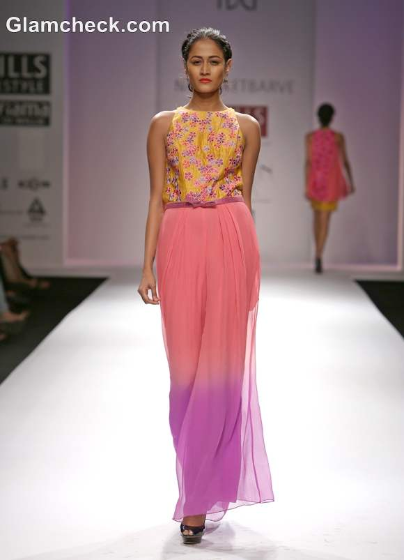 WIFW S-S 2013 Nachiket Barve collection