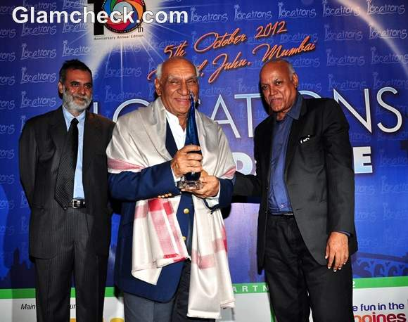 Yash Chopra Honoured with Lifetime Achievement Award