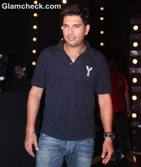 Yuvraj Singh Promotes Cancer Mini-Series Indias Got Talent