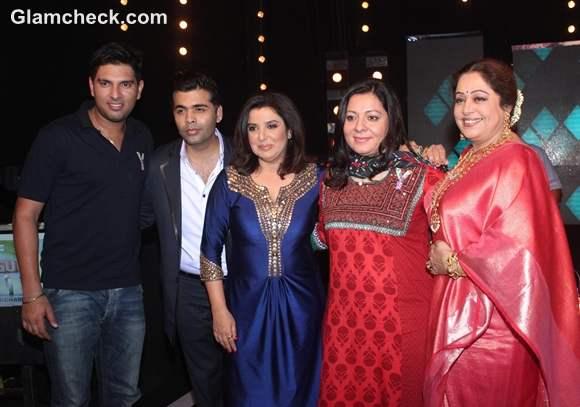 Yuvraj Singh Promotes Cancer Mini-Series on Indias Got Talent