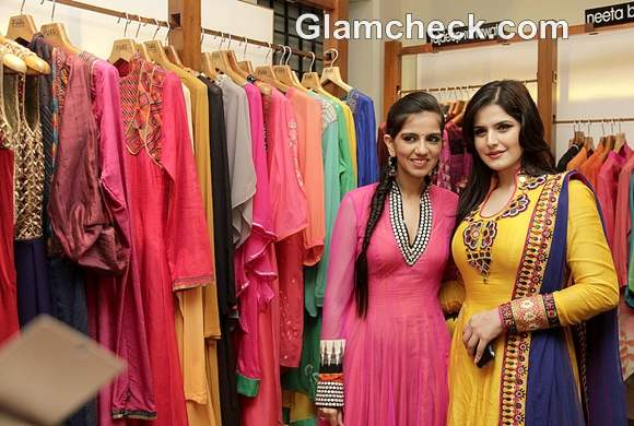 Zarine Khan Fuel the Fashion Store by Nishka Lulla Rajat Tangri
