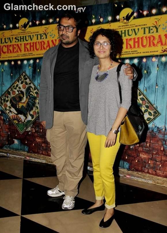 anurag kashyap  kiran rao Luv Shuv Tey Chicken Khurana special screening