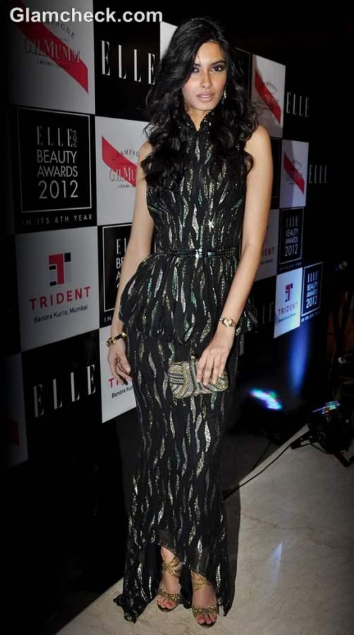 diana penty at Elle Beauty Awards 2012