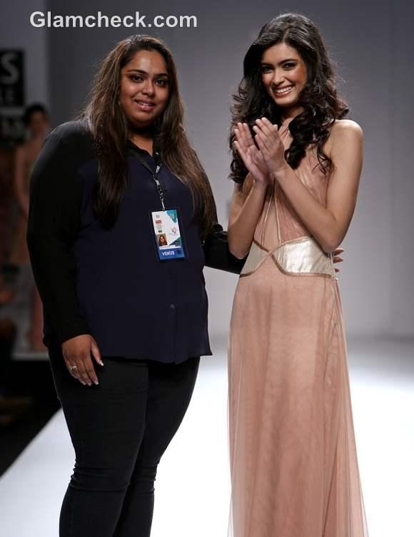 diana penty at WIFW S-S 2013 Sakshee Pradhan