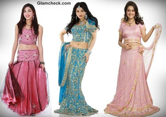 diwali fashion 2012 lehengas