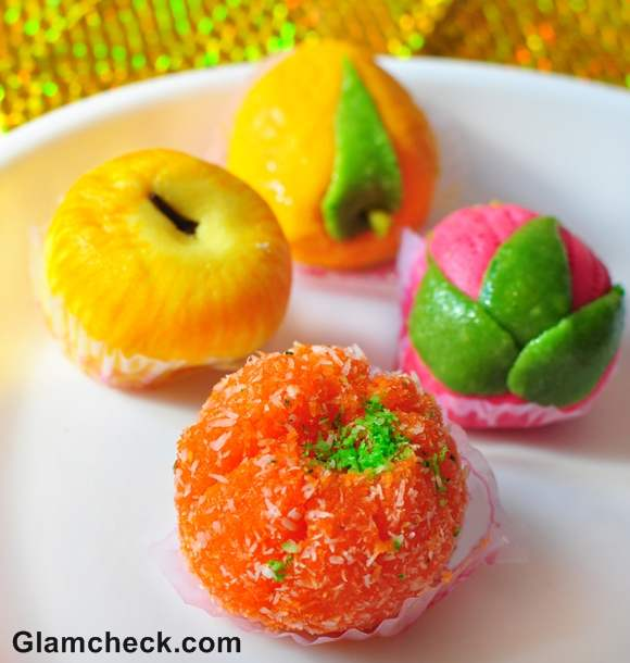 diwali sweets chum chum how to serve