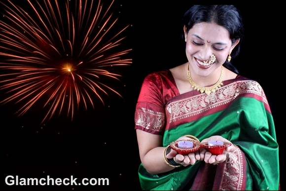 diwali traditional clothes women