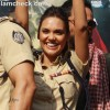 esha gupta Chakravyuh Promote Film Hindu College