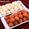 gulab jamun rosgulla served in plastic trays diwali sweets