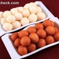gulab jamun rosgulla served in plastic trays diwali sweets