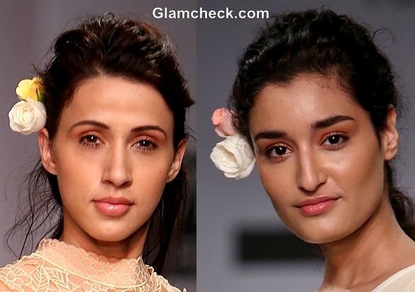 hairstyle WIFW S-S 2013 Manish Gupta Primrose