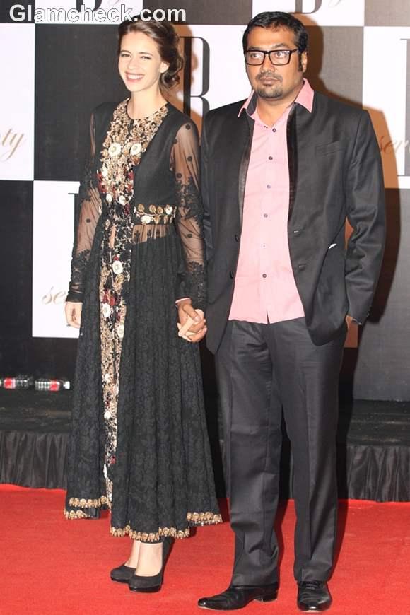 kalki and anurag kashyap bollywood couple amitabh 70 birthday bash