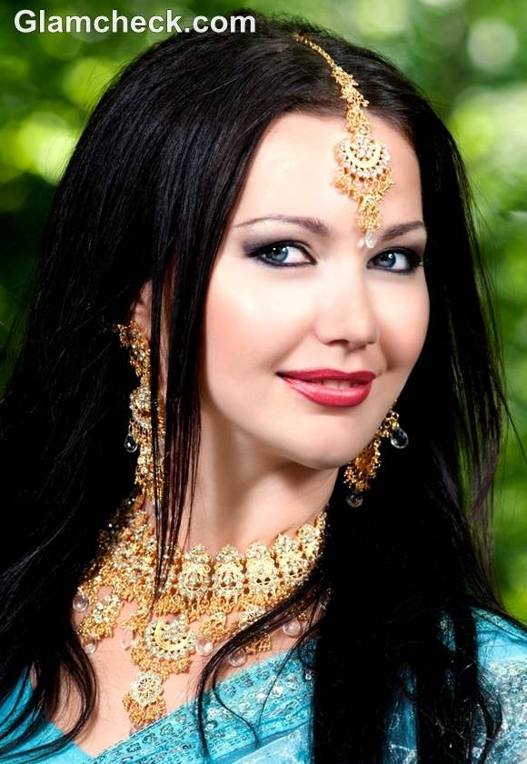 karva chauth 2012 hairstyle makeup looks