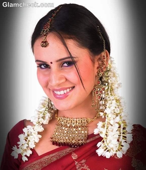 karva chauth gajra hairstyle 2012