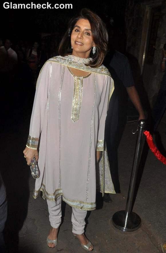 neetu singh at Saif Ali Khan & Kareena Kapoor Sangeet Ceremony