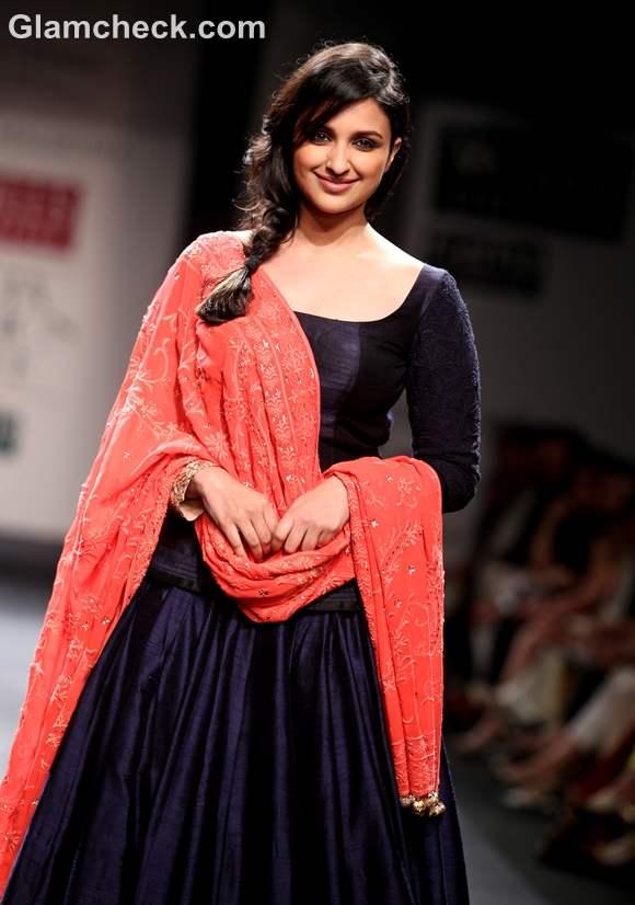 parineeti chopra Manish Malhotra WIFW S-S 2013 Mijwan collection