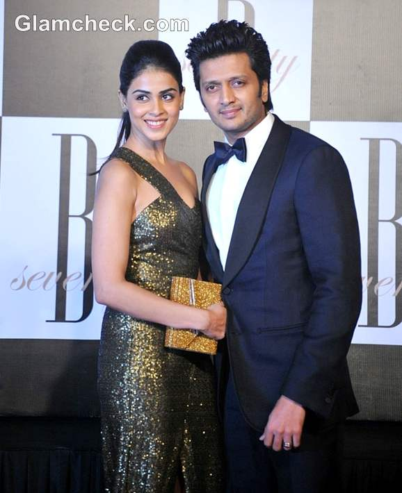 ritesh deshmukh genelia bollywood couple 2012