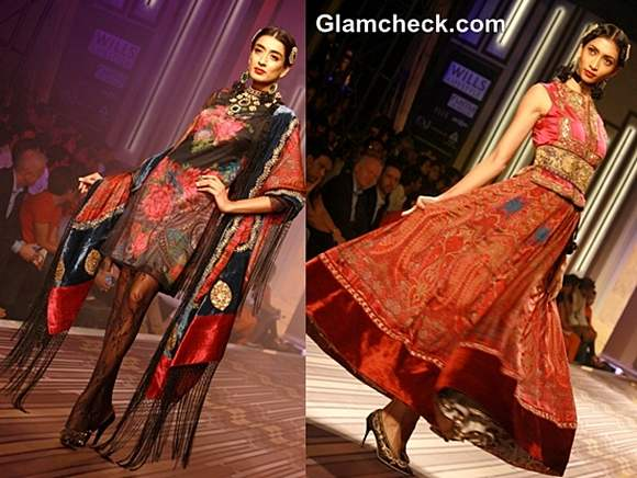 ritu kumar grand finale collection WIFW s-s 2013
